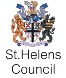 St Helens Council Logo Training